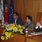 António Ferraz (ANCU(; Armindo Roque (APOIAR); Augusto Freitas (APVG)