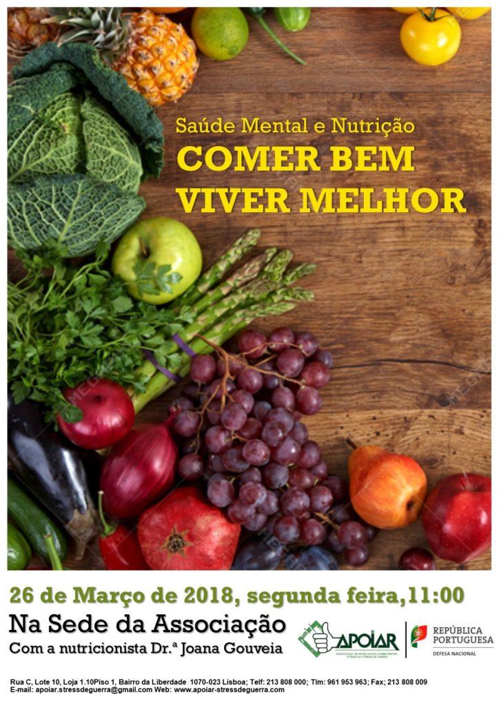Sessão de Esclarecimento Nutrição - 26 de Março