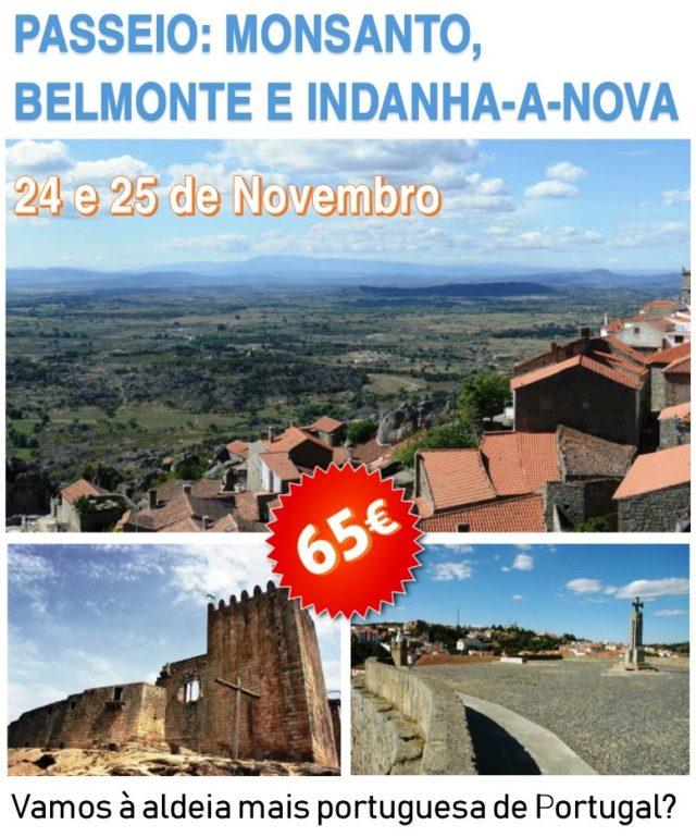 PASSEIO: Monsanto, Belmonte e Idanha-a-Nova - 24 e 25 de Novembro